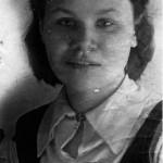 Мария - будущая жена Михаила, 1940 г.